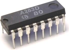 К174ХА10 (90г), Микросхема АМ-ЧМ тракта [DIP16] (TDA1083)