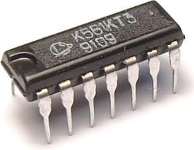 К561КТ3 (06-14г), 4-х канальный коммутатор