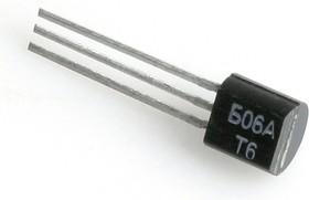 КР1168ЕН6А (92-00г), Стабилизатор с фиксированным отрицательным выходным напряжением -6В 0.1А TO-92 (79L06)