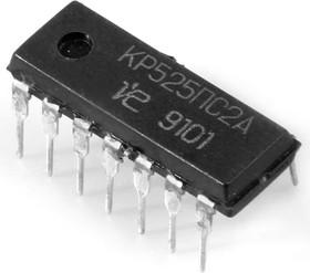Фото 1/2 КР525ПС2А (90-97г), 4-х квадрантный перемножитель сигналов (AD530)