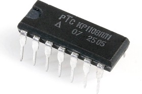 КР1108ПП1 (15г), Прецизионный преобразователь напряжение - частота - напряжение (VFC-32KP)