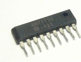 Фото 1/2 AN7112E, Одноканальный усилитель низкой частоты, 0.5Вт, 4В…14В, 8 Ом