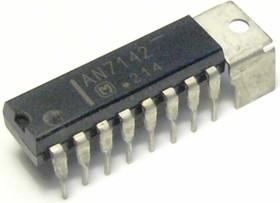 AN7142, Двухканальный усилитель низкой частоты, 0.9Вт, 4В…12В, 4 Ом