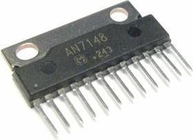 AN7148, Двухканальный усилитель низкой частоты, 2 х 2.1Вт, 9В…24В, 4 Ом