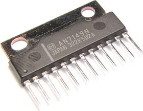 AN7149N, Двухканальный усилитель низкой частоты, 2 х 5.3Вт, 9В…24В, 3 Ом
