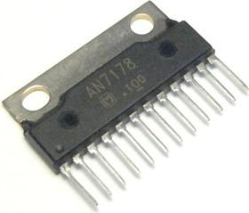 AN7178, Двухканальный усилитель мощности звука, 2 х 5.7Вт, 13.2В, 4 Ом