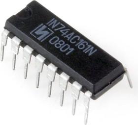 ЭКР1554ИЕ10 (98-12г), Четырехразрядный синхронный двоичный счетчик с асинхронным сбросом и синхронной загрузкой (IN74AC16