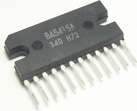 BA5415A, Двухканальный усилитель НЧ, 9В/12В, 2 х 5.4Вт, 4 Ом/3 Ом, 28мА