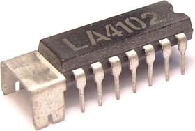 LA4100, Одноканальный аудиоусилитель для портативной электроники, 1Вт, 4 Ом, 4.5В…9В