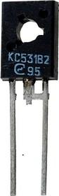 Фото 1/2 КС531В2, Стабилитрон 31В при Iст=5мА, 0.5Вт [КД-27-1]