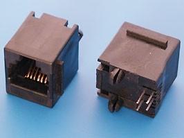 TJ3-6P4C, Розетка RJ14 телефонная на плату тип 3