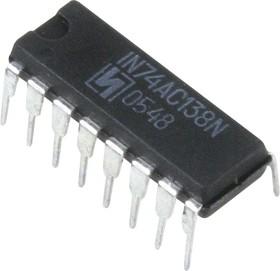IN74AC138N, Дешифратор- демультиплексор 3-8 с инверсией на выходе [2103Ю.16-Д] (=ЭКP1554ИД7)