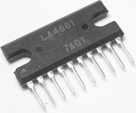 LA4601(N), Двухканальный усилитель мощности звука, 2 х 7Вт, 3 Ом, 5В…22В