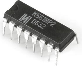 К561ИР2, Два четырехразрядных регистра сдвига [2103Ю.16-Д] (=СD4015АN)