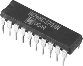 ЭКР1564ИР23 (00-03г), 8-разрядный регистр, управл.по фронту, с паралл.вводом-выводом данных, с вых.на три сост. (74HC374AN