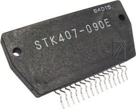 STK407-090 (E), Мощный двухканальный аудиоусилитель, 2 х 90Вт, ± 52В, 8 Ом