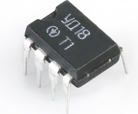 Фото 1/2 КР140УД18 (05-06г), Операционный усилитель среднего класса точности с дифференциальным входом
