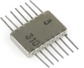 """564ЛН2 никель (97-11г), 6 логических элементов """"НЕ"""""""