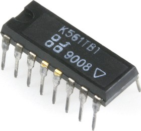 К561ТВ1 (89-91г), 2 J-K триггера