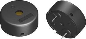 Фото 1/3 PS1740P02E, Audio Buzzer Piezo 30Vo-p 3Vo-p 75dBA Through Hole Pin Tray