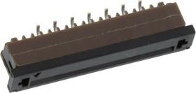 SFW15S-2STE1LF, CONNECTOR, FFC/FPC, 15POS, 1 ROW, 1MM