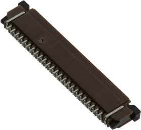 SFW24R-1STE1LF, CONNECTOR, FFC/FPC, 24POS, 1 ROW, 1MM