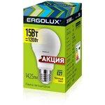 LED-A60-15W-E27-3K Эл.лампа светодиодная 14308