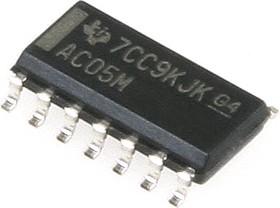 Фото 1/4 CD74AC05M, Инвертирующий вентиль [SO-14]
