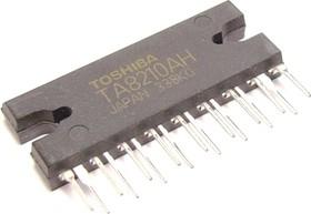 TA8210AH, Двухканальный мостовой усилитель НЧ, 2 х 20Вт, 4 Ом, 13.2В, 20…20000Гц, 50дБ