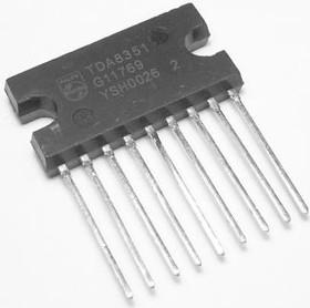 TDA8351/N6.112, Микросхема кадровой развертки, ТВ, [SIL-9P]