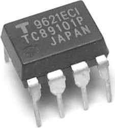 TC89101P, Энергонезависимая память, программируемая, ТВ [DIP8]