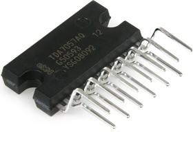 TDA7057AQ/N2.112, Мостовой, 2-х канальный усилитель с электронным управлением громкостью, 2 х 8Вт, [SOT-141-6]