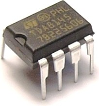 TDA8145, Корректор горизонтальной развертки ТВ [ DIP8]