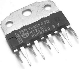 TDA6103Q, Трехканальный видеоусилитель ТВ [HZIP9]