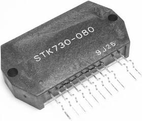 STK730-080, Импульсный регулятор напряжения ТВ, [SIP-12C1-4121]