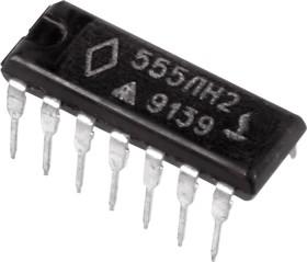 555ЛН2, 6 инверторов с открытым коллекторным выходом