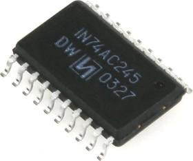 ЭКФ1554АП6 (98-03г), 8-разрядный двунаправленный приемопередатчик с тремя состояниями на выходе (IN74AC245D)
