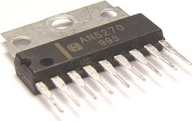 AN5270, Одноканальный усилитель НЧ с регулировкой громкости и тембра, [HSIP-9]