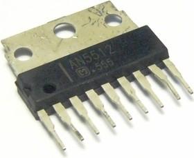 AN5512, Драйвер управления вертикальной (кадровой) разверткой, [HSIP-9]