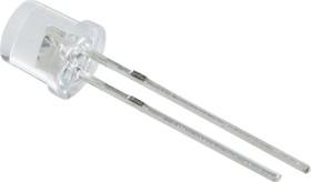 """BL-L543VC, Светодиод ультрафиолетовый 80"""" d=5мм 80мКд 405нМ (UV)"""