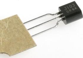 2SJ103, Транзистор, Р-канал, аудиоусилители, аналоговый ключ [TO-92]