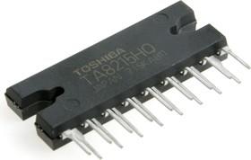 TA8215H(AH), Двухканальный мостовой усилитель НЧ, 2 х 18Вт, 4 Ом, 13.2В, 20…20000Гц, 50дБ