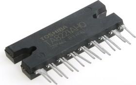 TA8221AH, Двухканальный мостовой усилитель НЧ, 2 х 30Вт, 2 Ом, 14.4В, 20…20000Гц, 50дБ