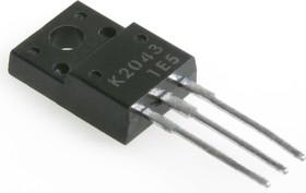 2SK2043, Транзистор N-канал 600В 2А 25Вт, TO-220F