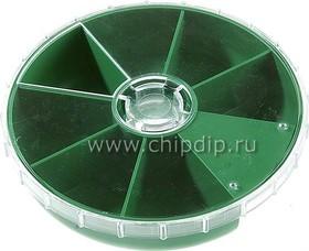Фото 1/2 R11-7, Коробка органайзер круглая, 113х26 мм