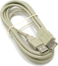 18-1114, Шнур штекер USB - гнездо USB 1.8М А(male) - A(female) 1.8м