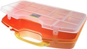 """Практик 360"", Коробка с ручкой, 8 съёмных перегородок,36х24.5х6 см"