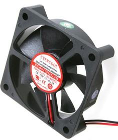 EC6015HH12B, Вентилятор 12В, 60х60х15мм , подш. качения, 5000 об/мин