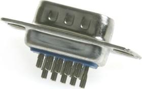 Фото 1/3 DHS-15M (DS1035-15M), Вилка 15 pin высокой плотности на кабель