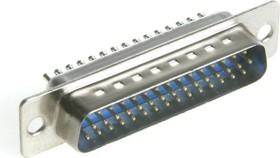 Фото 1/2 DHS-44M (DS1035-44M), Вилка 44 pin высокой плотности на кабель